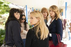 "From left to right: Shailene Woodley, Zoë Kravitz, Reese Witherspoon, Nicole Kidman and  Laura Dern in ""Big Little Lies"" Season 2."