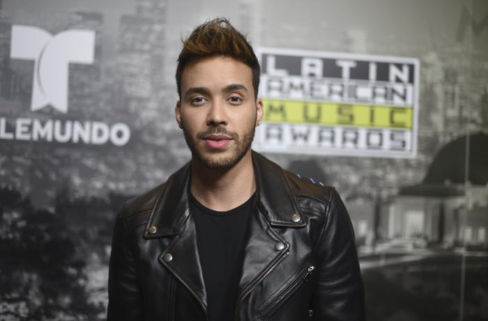 In this Oct. 26, 2017 file photo, Prince Royce