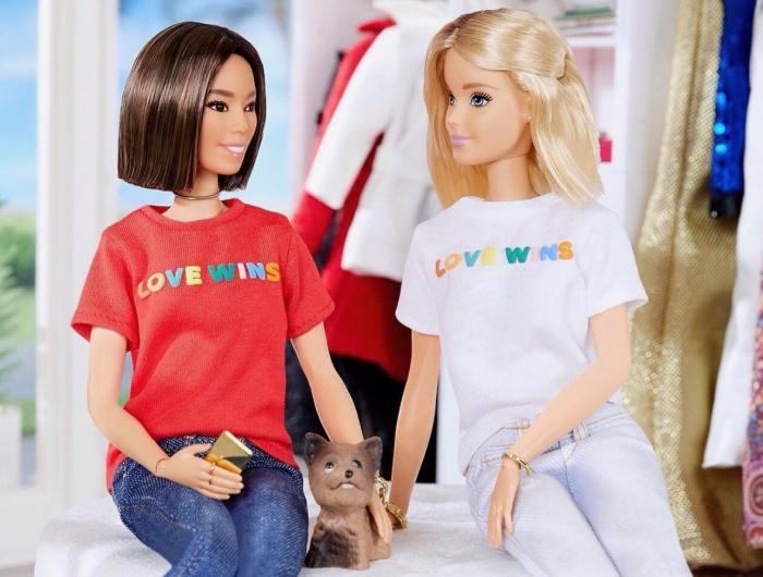 Aimee and Barbie in 2017