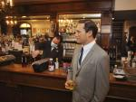 NYC Steakhouse Stunt: A Wax Don Draper Hanging at the Bar