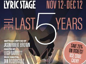 'Last Five Years' Heads to Boston's Lyric Stage Company
